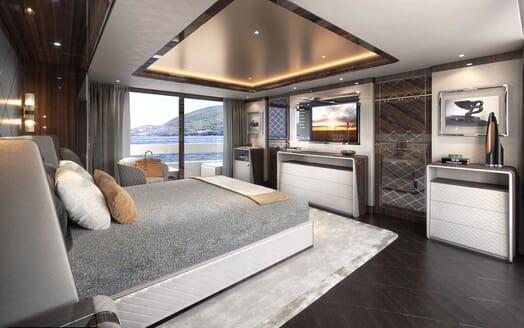 Motor Yacht DYNAMIQ G350 VIP Stateroom