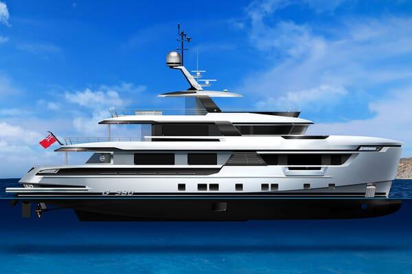 Motor Yacht DYNAMIQ G380 Profile