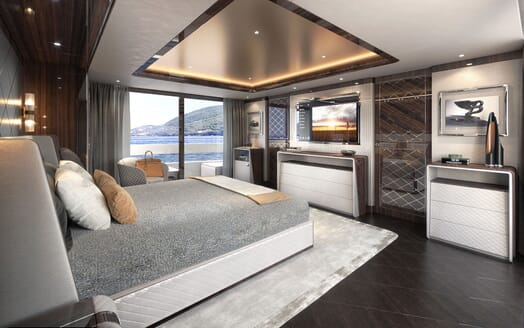 Motor Yacht DYNAMIQ G380 Master Stateroom 2