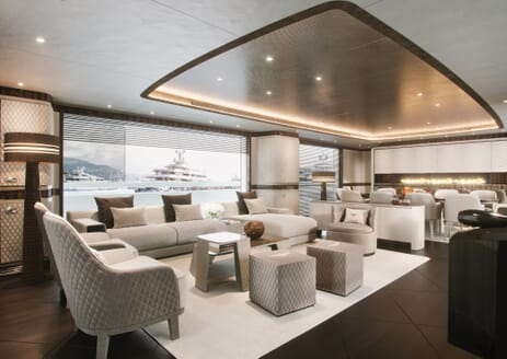 Motor Yacht DYNAMIQ G440 Main Saloon Speakers