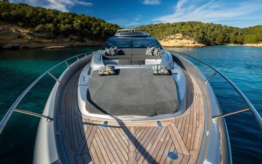 Motor Yacht JULIA S Bow View