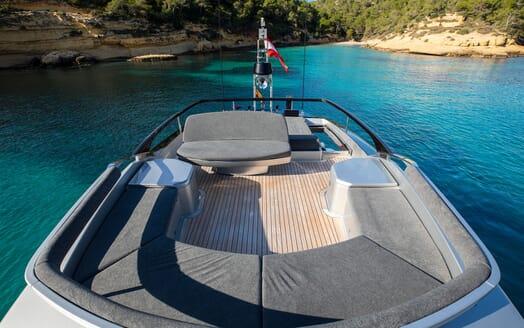 Motor Yacht JULIA S Sun Deck