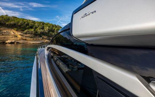 Motor Yacht JULIA S Side Detail