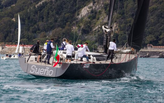 Sailing Yacht SUENO Aft Shot