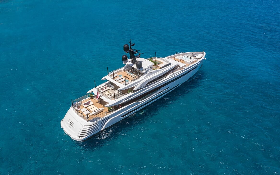 Motor Yacht LEL Exterior Aerial