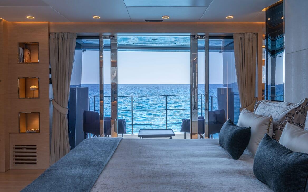 Motor Yacht LEL Stateroom Balcony
