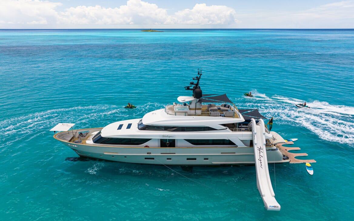 Motor Yacht HALCYON Hero Profile
