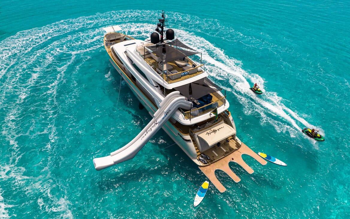Motor Yacht HALCYON Sun Deck