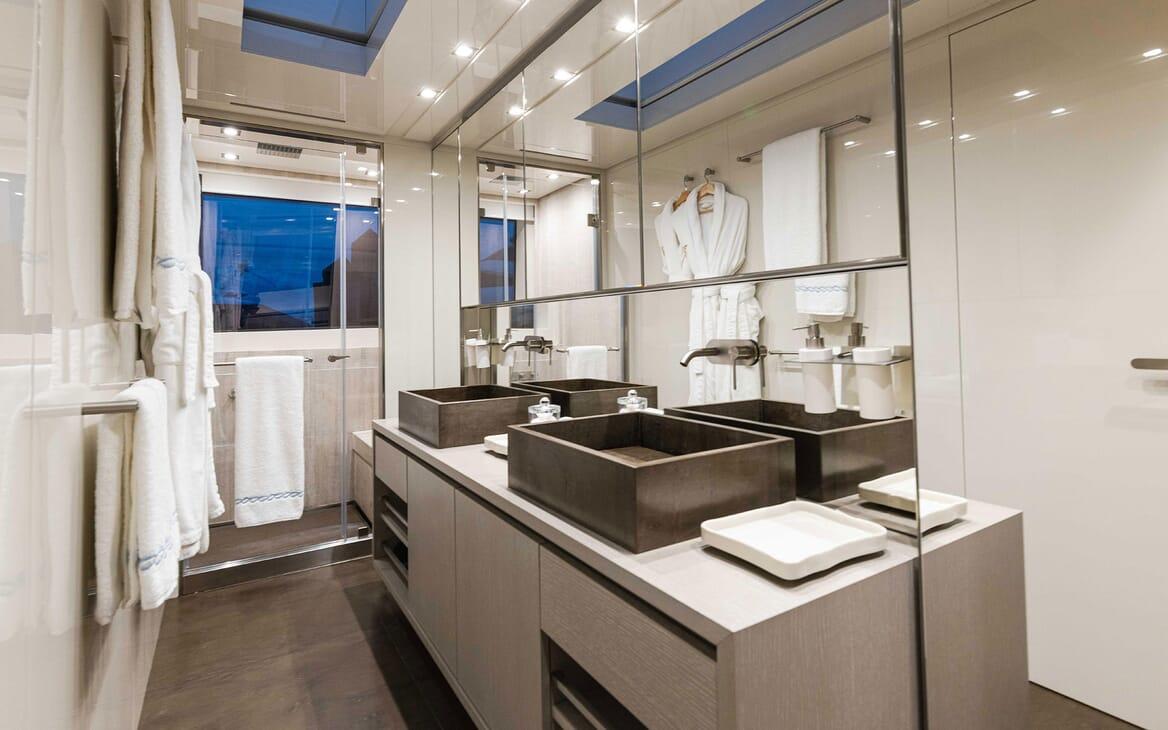 Motor Yacht HALCYON Master Stateroom
