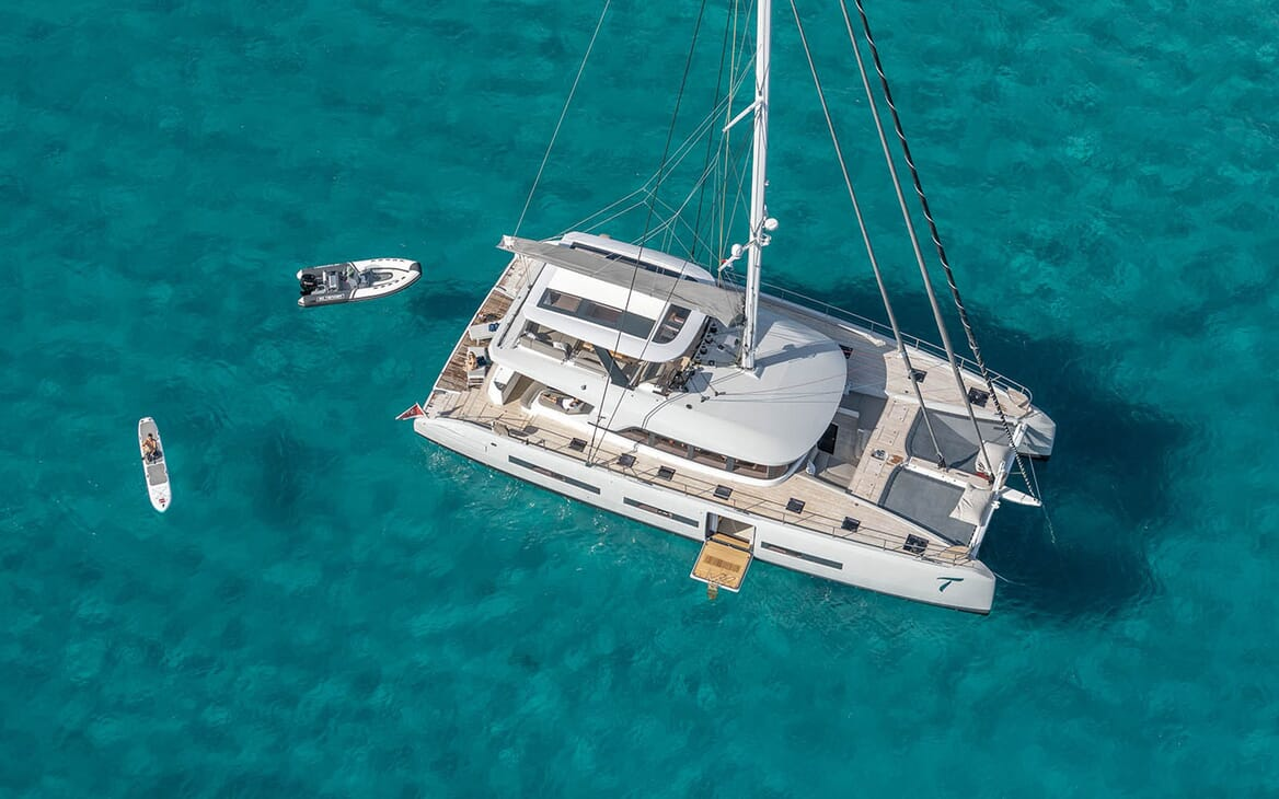 Sailing Yacht THUNDERBOLT Aerial Exterior