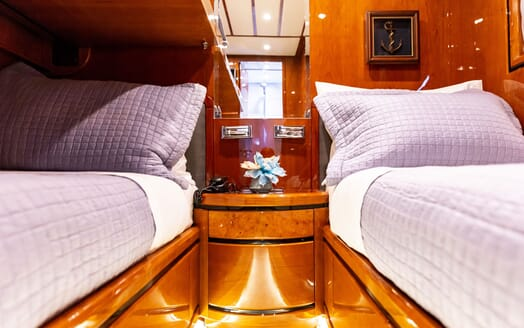 Motor Yacht PAREAKI Twin Guest Stateroom