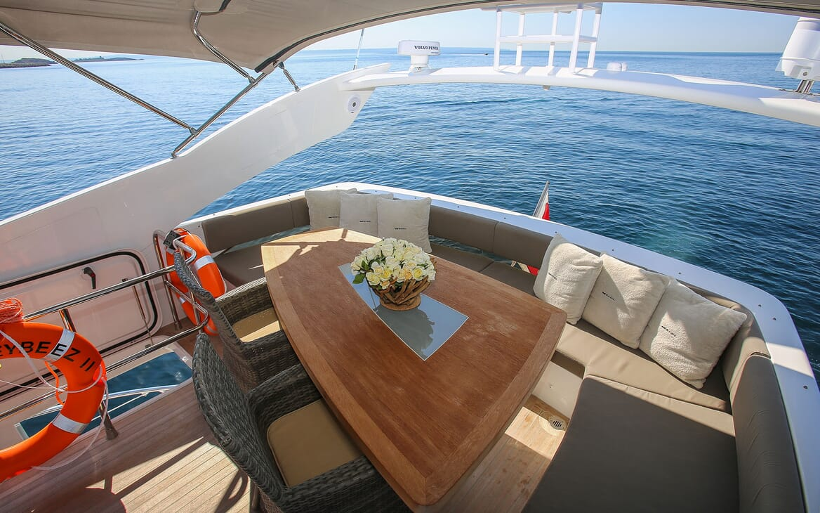 Motor Yacht HONEYBEEZ II Sun Deck Aft