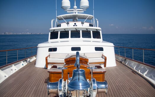 Motor Yacht BLUE Bow Exterior Seating