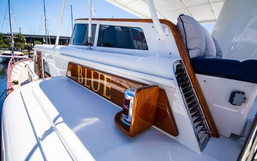 Motor Yacht BLUE Name Plaque