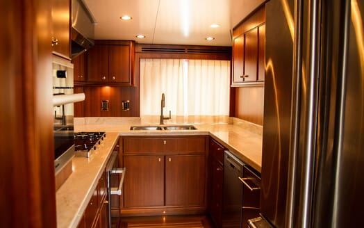 Motor Yacht BLUE Galley
