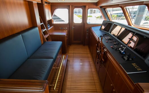Motor Yacht BLUE Wheelhouse