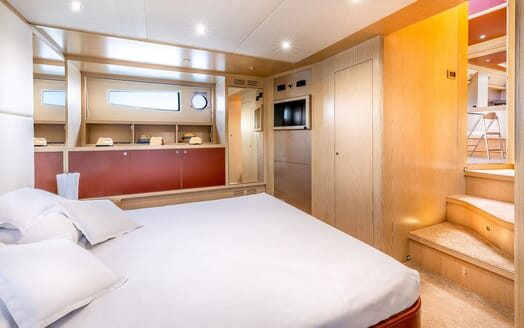 Motor Yacht R Master Stateroom