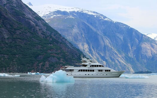 Motor Yacht SERENITY 122 Exterior with Icebergs