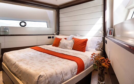 Motor Yacht MOANNA II VIP Double Stateroom]