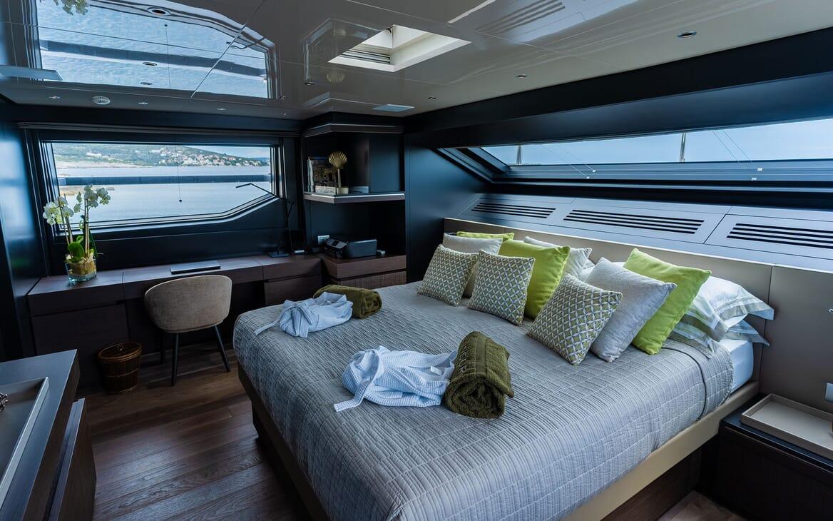 Motor Yacht NOOR II Master Stateroom