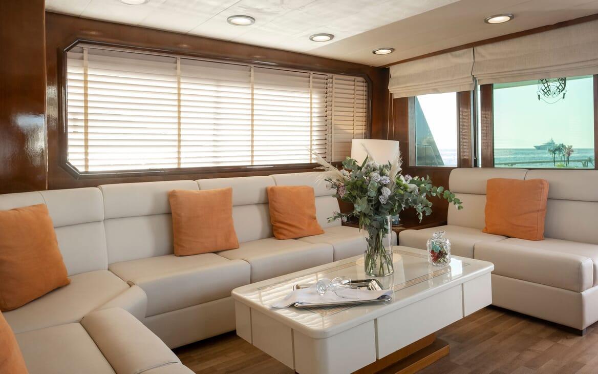 Motor Yacht SHIVA  Master Stateroom