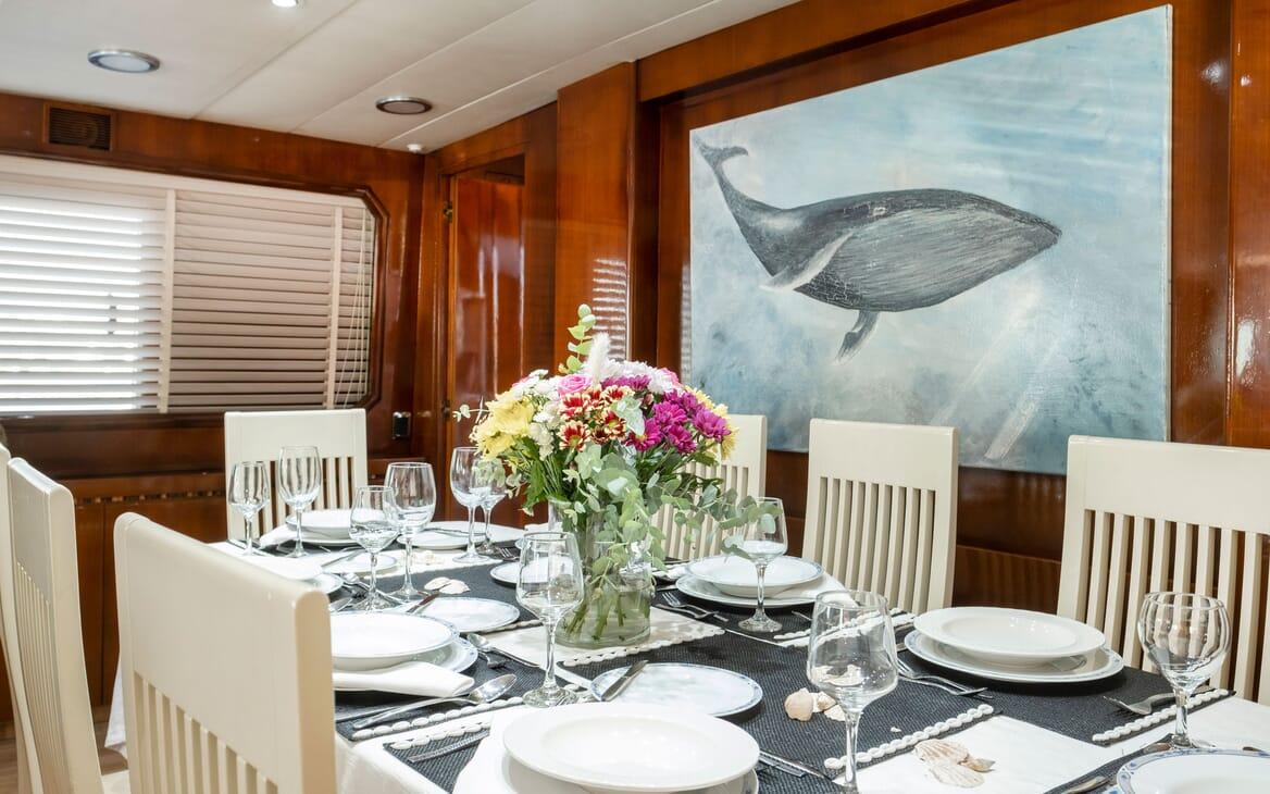 Motor Yacht SHIVA Sun Deck