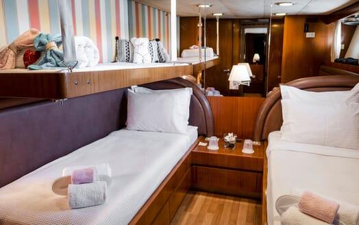 Motor Yacht SHIVA Bow
