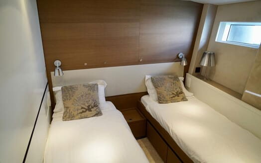 Sailing Yacht ALAMEA Twin Guest Stateroom