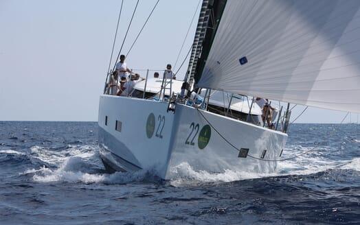 Sailing Yacht ALAMEA Bow Shot