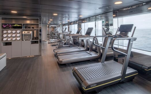 Motor Yacht SCENIC ECLIPSE Gym