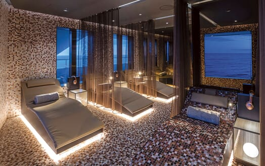 Motor Yacht SCENIC ECLIPSE Wellbeing Suite