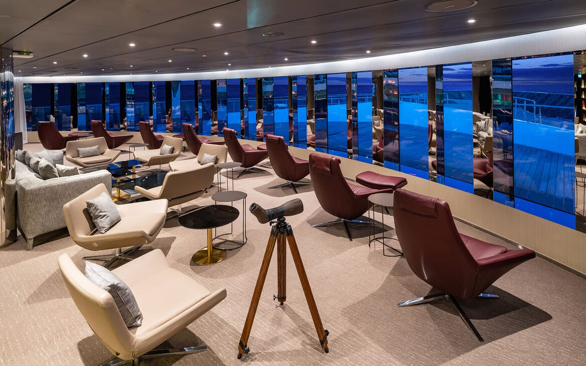 Motor Yacht SCENIC ECLIPSE Forward Lookout with Telescope