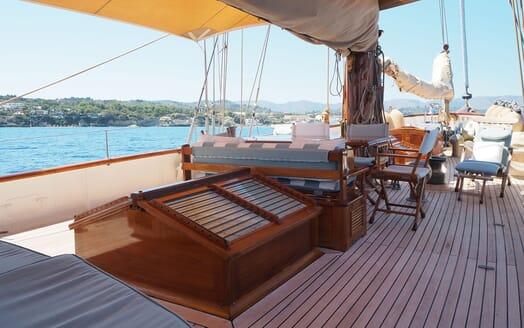 Sailing Yacht IDUNA Deck