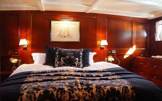 Sailing Yacht IDUNA Master Stateroom