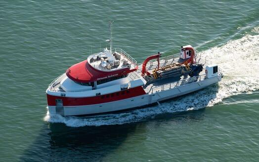 Motor Yacht PROFAB 34m MONO Side Profile