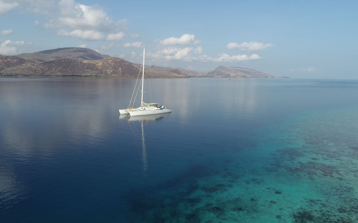 Sailing Yacht LONE STAR Exterior View