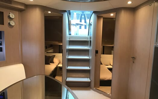 Motor Yacht CAVALLO 52 Steps into Cabin