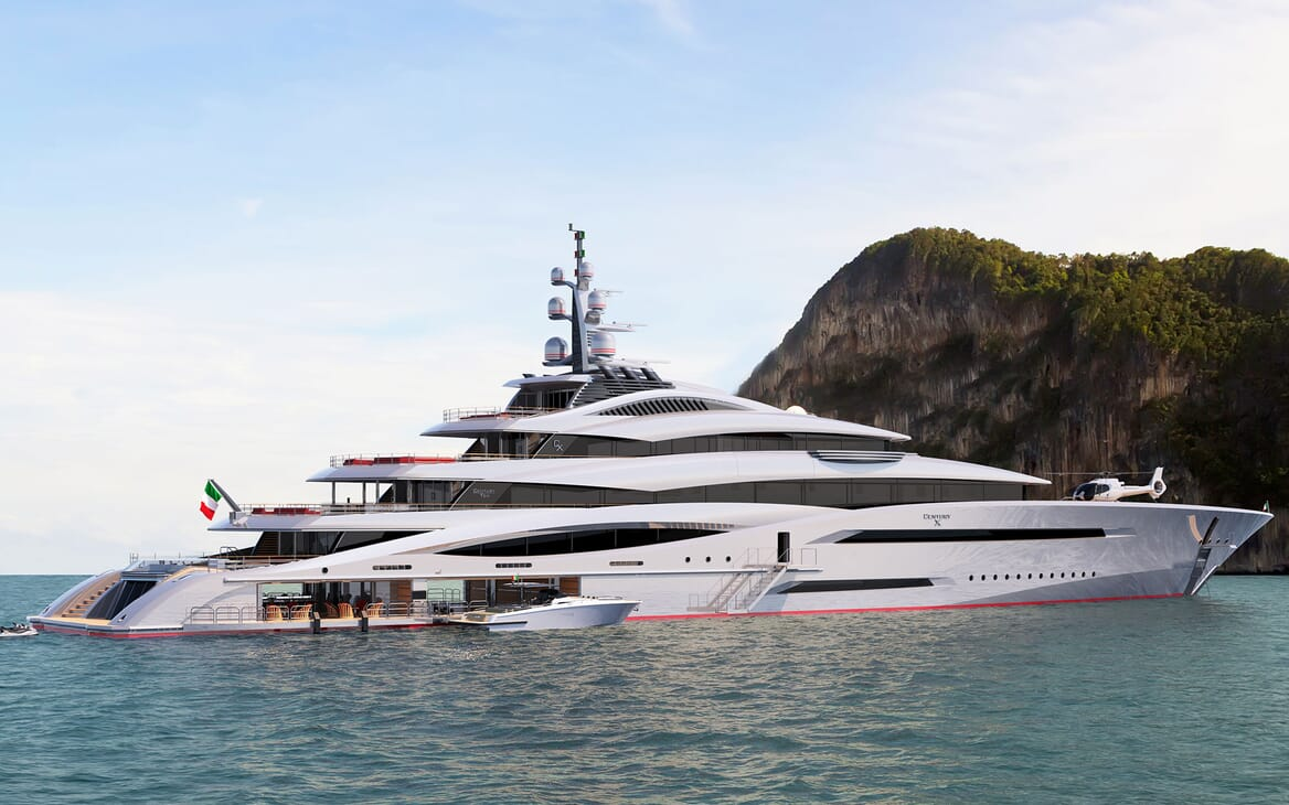 Motor Yacht CENTURY X Profile
