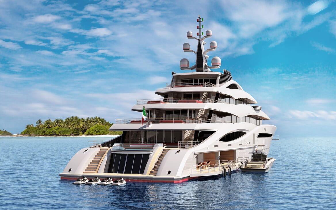 Motor Yacht CENTURY X Aft Decks