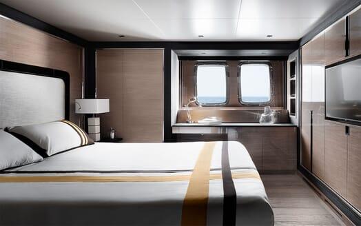 Motor Yacht REINE D AZUR Guest Double Stateroom
