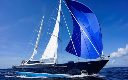 Sailing Yacht LA CATTIVA Underway