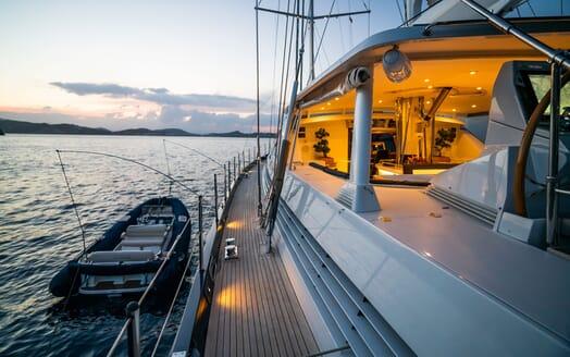 Sailing Yacht LA CATTIVA Tender