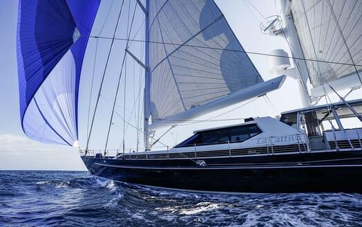 Sailing Yacht LA CATTIVA Bow Exterior