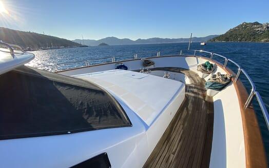 Motor Yacht TURK'S Bow
