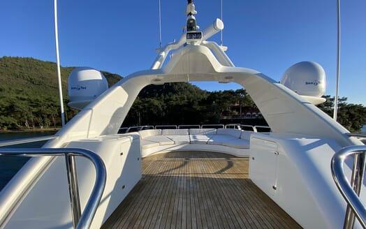 Motor Yacht TURK'S Sundeck Sun Pads