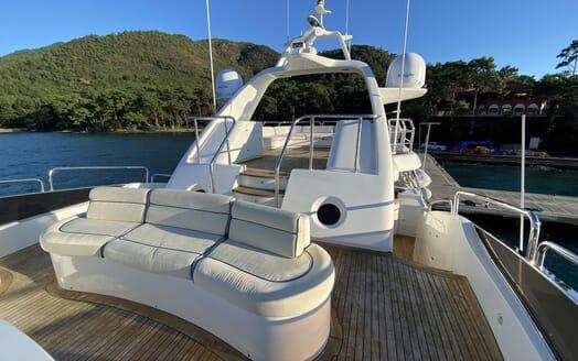 Motor Yacht TURK'S Sun Deck
