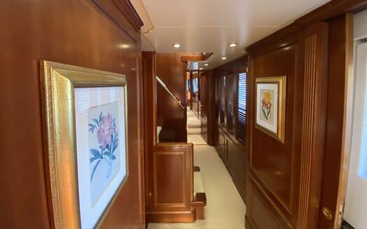 Motor Yacht TURK'S hallway
