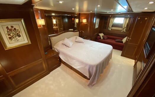 Motor Yacht TURK'S Guest Double Stateroom