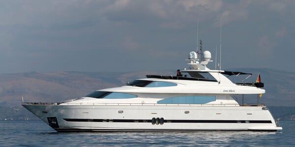 Motor Yacht CONTE ALBERTI profile