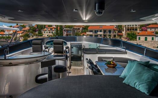 Motor Yacht CONTE ALBERTI Sun Deck